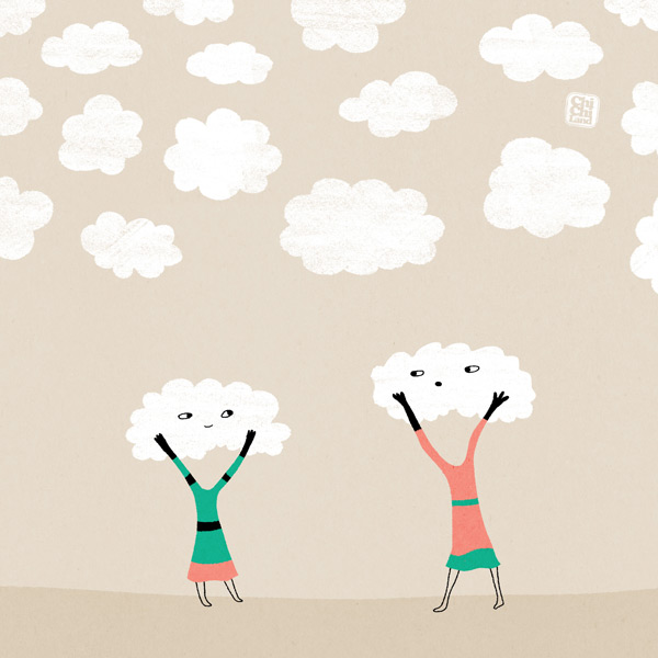 Let's Make Clouds: Everyday #716