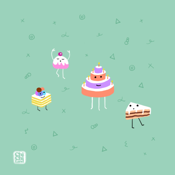 Cake Day: ChiChiLand Everyday Project #28