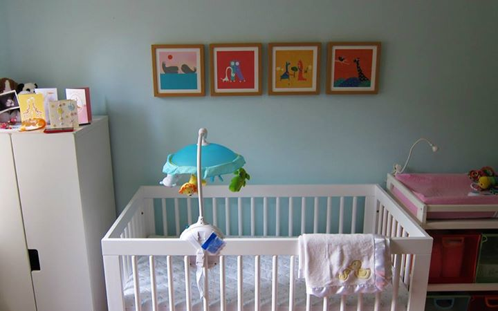 Baby Room, Wall Art: ChiChiLand In the wild