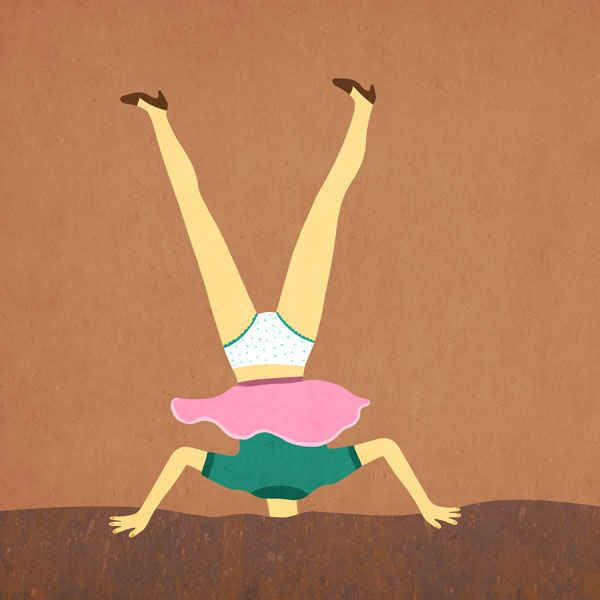 Beach Headstand: Everyday #292