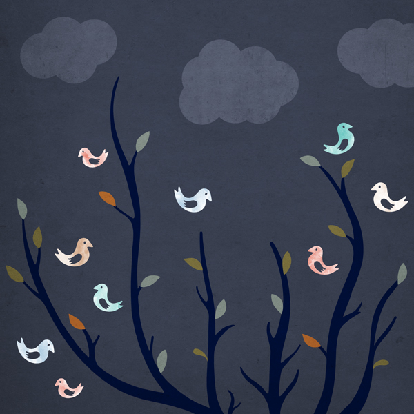 Tree of Birds: Everyday #317