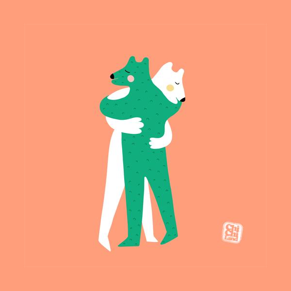 Bear Hug: ChiChiLand Everyday Project #147