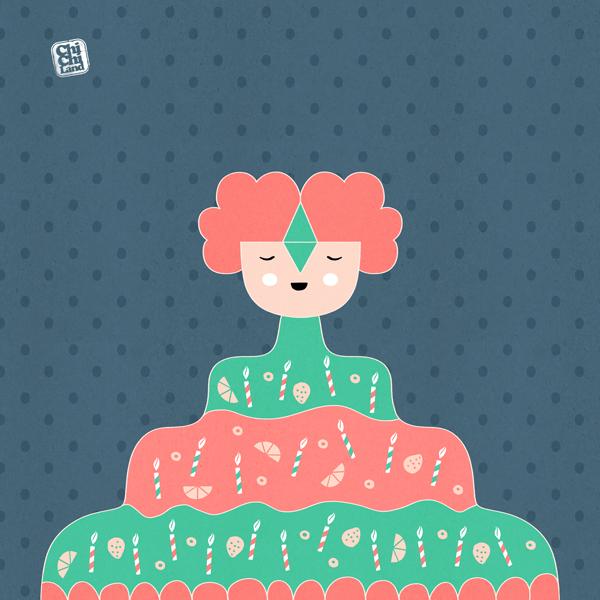 My Ultimate Birthday Cake: Everyday #721