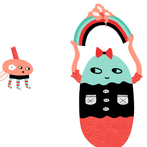 Happy Winter Friends by ChiChiLand: Detail 3