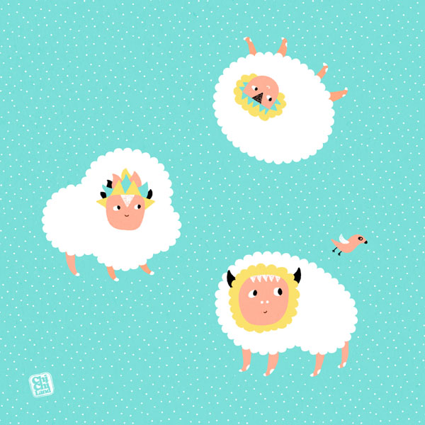 Weekly Bits #4: CloudSheeps by ChiChiLand