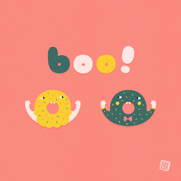 Halloween Donuts by ChiChiLand