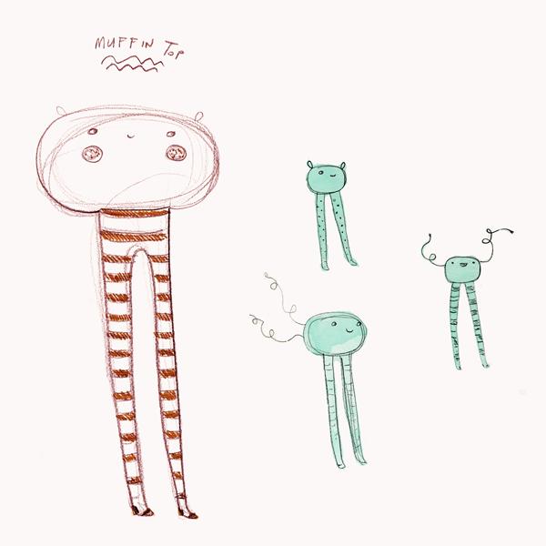 ChiChiLand Sketchbook: Muffin Tops