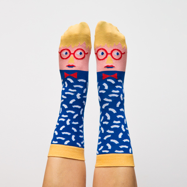 Chatty Feet David Socknee by ChiChiLand