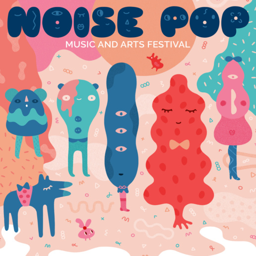 Noise Pop poster by ChiChiLand