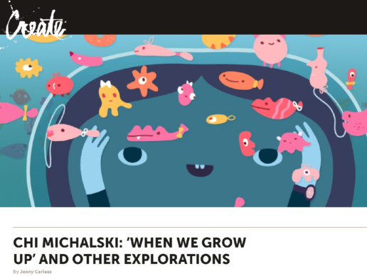 Adobe Create Magazine Feature - ChiChiLand