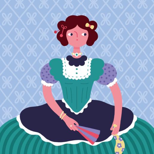 She Votes Book Illustration - ChiChiLand